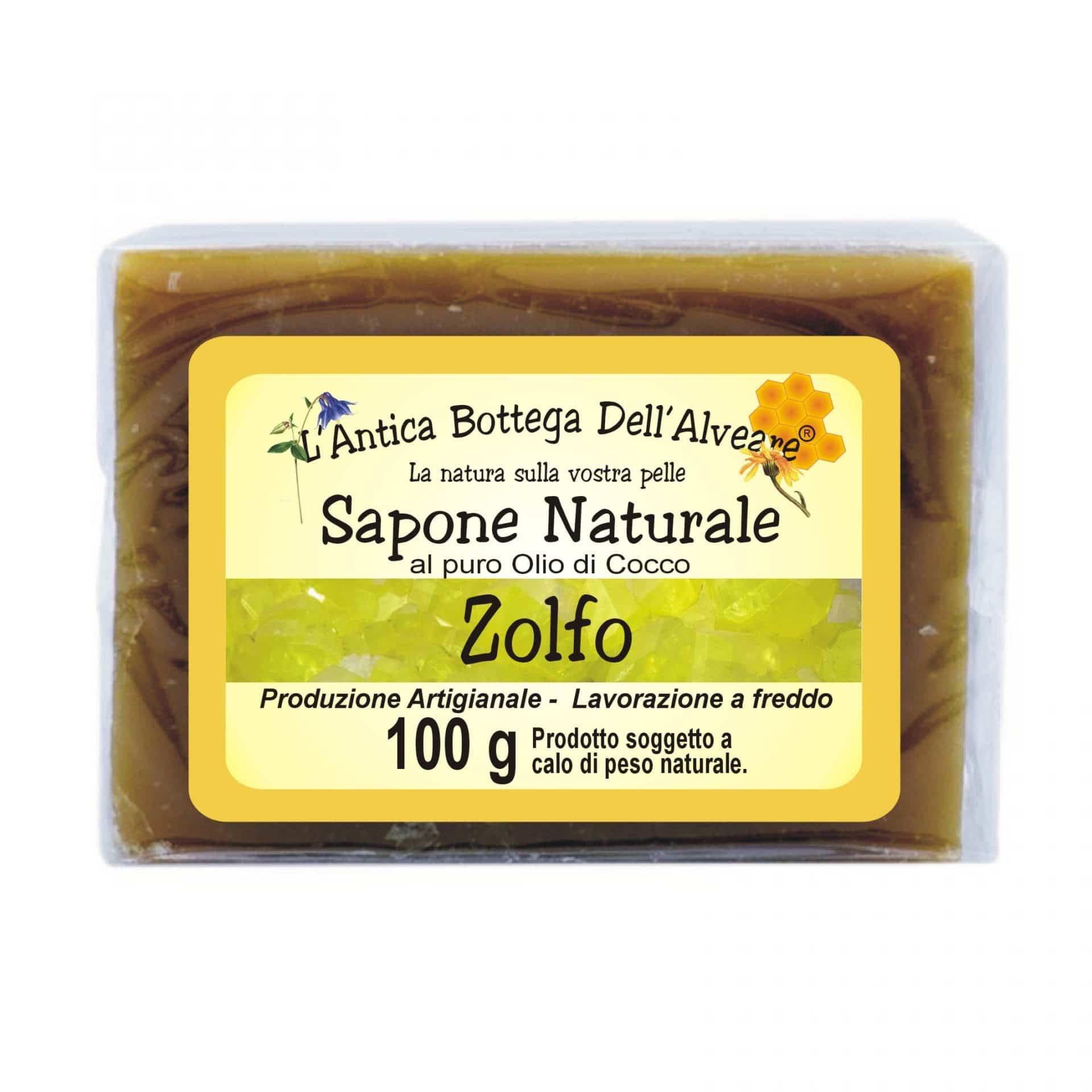 SAPONE NATURALE zolfo