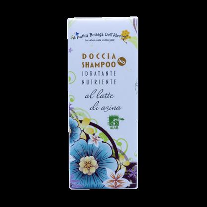 Doccia shampoo al latte di asina biologico
