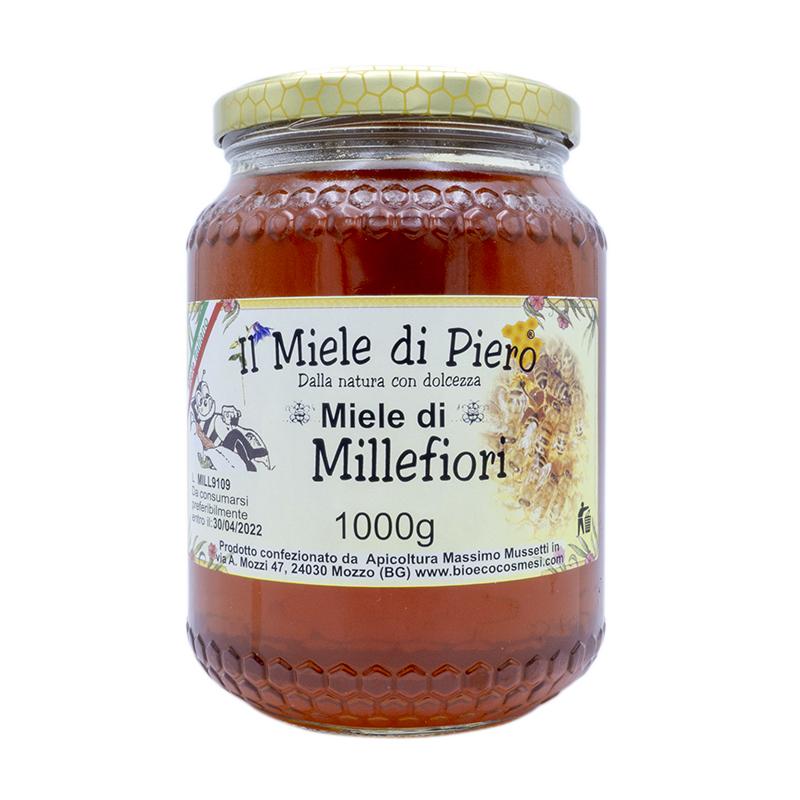 Il miele di Piero Miele di Millefiori 1000 grammi