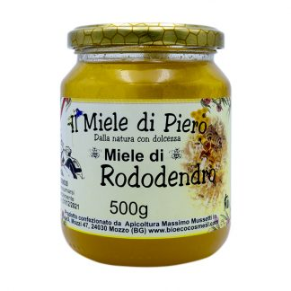 Il miele di Piero Miele di Rododendro 500 grammi