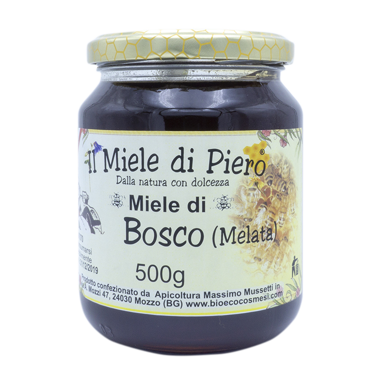 Il miele di Piero Miele di bosco Melata 500 grammi