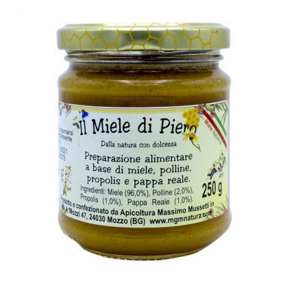 Il miele di Piero preparazione alimentare a base di miele polline propolis e pappa reale