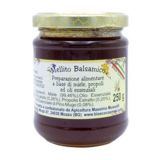 Mellito Balsamico preparazione alimentare a base di miele propoli ed oli essenziali