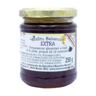 Mellito balsamico Extra preparazione alimentare a base di miele propoli ed oli essenziali