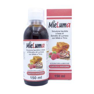 Miele Mieluma Soluzione bevibile a base di estratto di lumaca con miele e timo gusto lampone