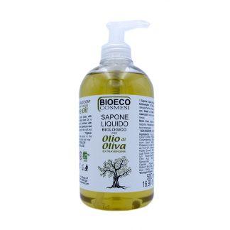 Sapone liquido biologico con olio di oliva