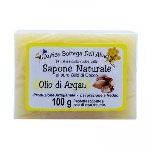 Sapone naturale olio di argan al puro olio di cocco