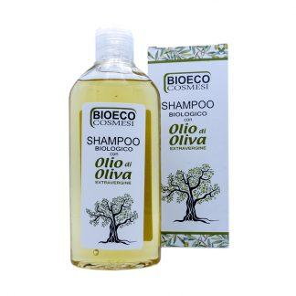 Shampoo biologico con olio di oliva extravergine