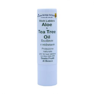 Stick labbra aloe tea tree oil